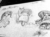 Drawing A Cartoon Strip Mini Comic Strip Sketch by Alejandra Dirzo Alejandra Dirzo S