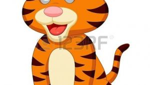 Drawing A Cartoon Tiger Cute Tiger Cartoon Cartoon Images to Paint Cute Tigers Cartoon