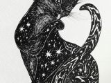 Drawing A Cat Quickly Pin by Erin Quick On Illustration In 2018 Cat Art Cats Cat Drawing