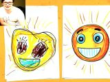 Drawing A Cat Youtube How to Draw Emoji Sun Smile Youtube