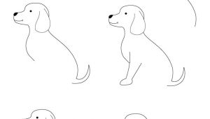 Drawing A Cute Dog Step by Step Drawing Animals Step by Step Children Coloring Pages Printable