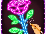 Drawing A Rose Beginners How to Draw Glow Flower Step by Step for Beginners by Pravin Gondaliya