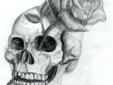 Drawing A Skull Easy Skull and Rose by Dyslogistic On Deviantart Art Gcse Pinterest