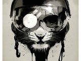 Drawing A Skull In Illustrator Eye Of the Tiger by Welsh Designer and Illustrator Rhys Owens On