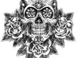 Drawing A Skull Side View Sugar Skull Drawing Side View Google Search Tattoo Ideas
