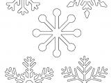 Drawing A Snowflake Free Printable Snowflake Templates Large Small Stencil Patterns