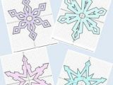 Drawing A Snowflake Snowflake Bundle Mystery Pictures 4 Quadrants Science Student