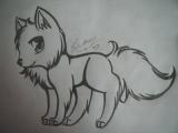 Drawing A Wolf Cute Wolf Drawing 1 by Animefan1863 Deviantart Com On Deviantart