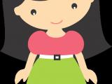 Drawing An Anime Cartoon In Coreldraw Mascotinhas Gra Tis Para Baixar Cute Girls Cartoon Pinterest