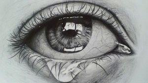 Drawing An Eye On Black Paper Crying Eye Sketch Drawing Pinterest Drawings Eye Sketch and