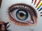 Drawing An Eye Realistically with Colored Pencils Pin by Perla Nicole On Dibujos Realistas Pinterest