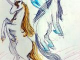Drawing Animated Dragons A Drawing Made by Me Of A Unicorn and A Pegasus This Drawing is