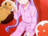 Drawing Anime 2016 New Game Suzukaze Aoba Megami Magazine June 2016 Anime New Game