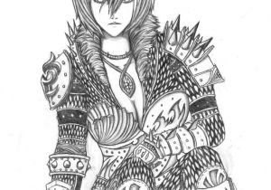 Drawing Anime Armor Girl In Armor by Hmonger95 On Deviantart