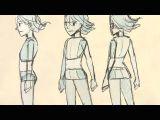 Drawing Anime Back View Koizu S Drawing Tutorial Playlist On Youtube Drawing Anime Manga