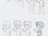 Drawing Anime Boy Body Manga Interest Chibi Boy Standing How to Draw A Chibi Boy