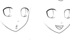 Drawing Anime Characters Easy Basic Anime Expressions Drawing Draw Manga Drawing Und Drawing
