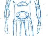 Drawing Anime Characters Full Body How to Draw A Basic Manga Character Body Proportions