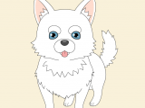 Drawing Anime Dogs How to Draw A Cute Anime Dog In 7 Steps Animeoutline