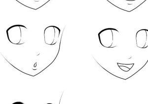 Drawing Anime Emotions Basic Anime Expressions Manga Pinterest Drawings Manga