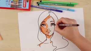 Drawing Anime Eyes Youtube How to Draw A Manga Stabilo Tutorials Intermediate Youtube