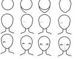 Drawing Anime Face Step by Step 61 Best How to Draw Anime Faces Images Drawings How to Draw Anime