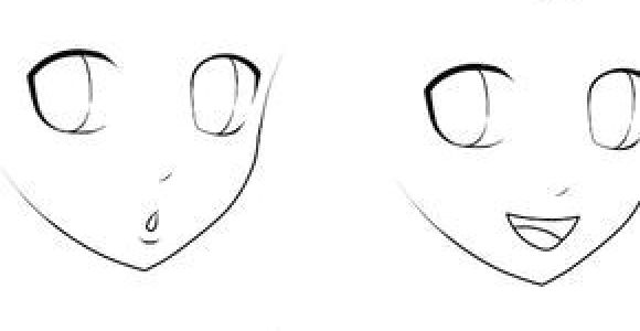 Drawing Anime Facial Expressions Basic Anime Expressions Drawing Draw Manga Drawing Und Drawing