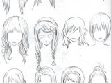 Drawing Anime Female Face Pin by Gaby On Cute Drawing Ideas Drawings Hair Reference How to