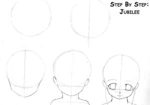 Drawing Anime Head Tutorial Anime Step by Step Drawing Head Drawing Anime Steps Page 1 by
