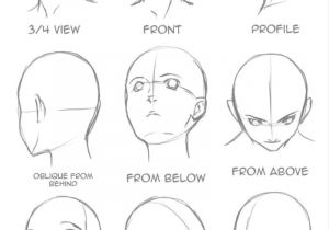 Drawing Anime Head Tutorial Good for Perspective Craft Cooking Ideas Drawings Drawing Tips