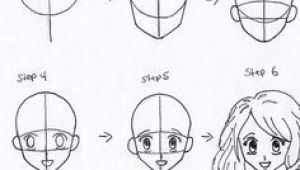 Drawing Anime Heads for Beginners 61 Best How to Draw Anime Faces Images Drawings How to Draw Anime