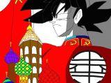 Drawing Anime I Pad Anime Dragon Ball Multiverse Russian Goku and Russian Naruto My