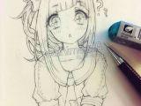 Drawing Anime Ink Kawaiiiii Anime Girl Drawing Sketch In 2019 Pinterest Drawings