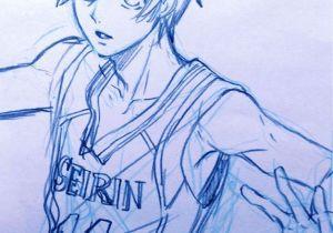 Drawing Anime Kuroko Kuroko Sketch by Yana toboso Kuroshisuji S Creator On Her Blog