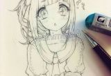 Drawing Anime Lady Kawaiiiii Anime Girl Drawing Sketch In 2019 Pinterest Drawings