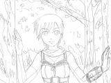 Drawing Anime Maker Keeper Of the Woods original Anime Art Process Drawing Sketches