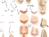Drawing Anime Mouths Tutorial Drawing Anime Noses by Moni158 Deviantart Com Art Drawing