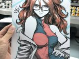 Drawing Anime On android Phone android 21 by Artgem Dbz the Show that Never Gets Old In 2018