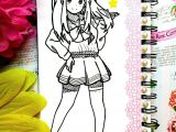 Drawing Anime On Laptop Drawing Anime Cute Creative Notebook Sketchbook Pinterest