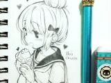 Drawing Anime On Paint Rico Taiyaki Kawaii Art Anime Art Drawings
