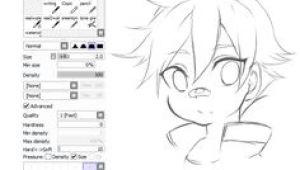 Drawing Anime On Paint tool Sai 399 Best Paint tool Sai Brush Settings Images Drawing Tutorials