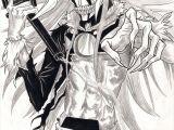 Drawing Anime Professional Ichigo Hollow form 2 Bleach Bleach Anime Anime Bleach