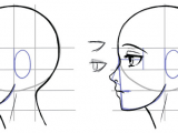 Drawing Anime Profile View How to Draw the Side Of A Face In Manga Style Manga Tuts