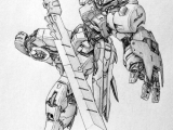 Drawing Anime Robot Awesome Gundam Sketches by Vickidrawing View More at Her Website