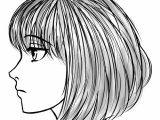 Drawing Anime Side Face How to Draw the Side Of A Face In Manga Style Manga Tuts