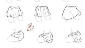 Drawing Anime Skirts Skirt Folds Drawings Drawings Art Drawings Drawing Reference