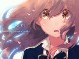 Drawing Anime Tears Anime Girl Anime and Koe No Katachi Image Acg Anime Anime Art