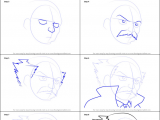 Drawing Anime Tutorial Step by Step How to Draw Makarov Dreyar From Fairy Tail Printable Step by Step