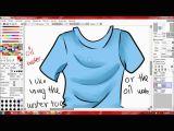 Drawing Anime Using Paint tool Sai How to Use Paint tool Sai Basics Youtube