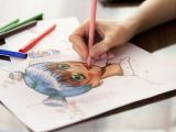 Drawing Anime Using Watercolor Draw A Manga Face with these Easy Steps